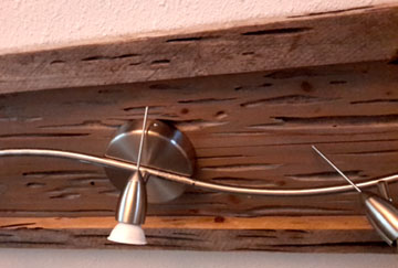 Reclaimed Wood Can Spruce Up A Lighting Fixture